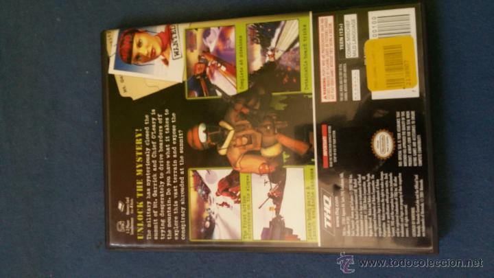 Videojuegos y Consolas: Juego de nintendo gamecube ngc Dark Summit snowboard original completo (versión americana NTSC) - Foto 3 - 51068453