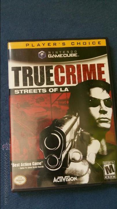 JUEGO DE NINTENDO GAMECUBE NGC TRUE CRIME STREETS OF LA ORIGINAL COMPLETO (VERSIÓN AMERICANA NTSC) (Juguetes - Videojuegos y Consolas - Nintendo - Gamecube)