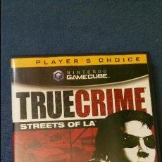 Videojuegos y Consolas: JUEGO DE NINTENDO GAMECUBE NGC TRUE CRIME STREETS OF LA ORIGINAL COMPLETO (VERSIÓN AMERICANA NTSC). Lote 51068468