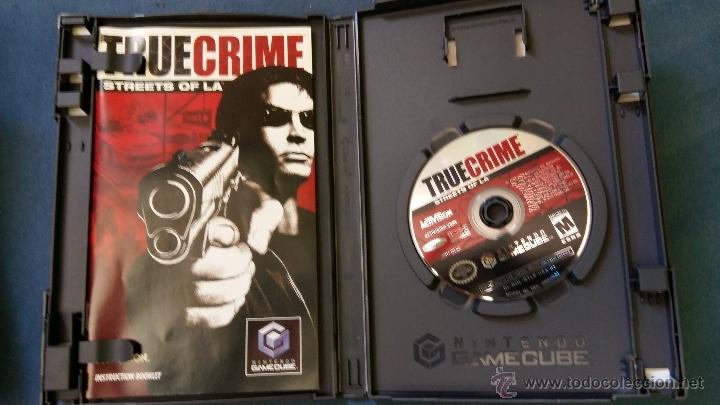Videojuegos y Consolas: Juego de nintendo gamecube ngc true crime streets of la original completo (versión americana NTSC) - Foto 2 - 51068468