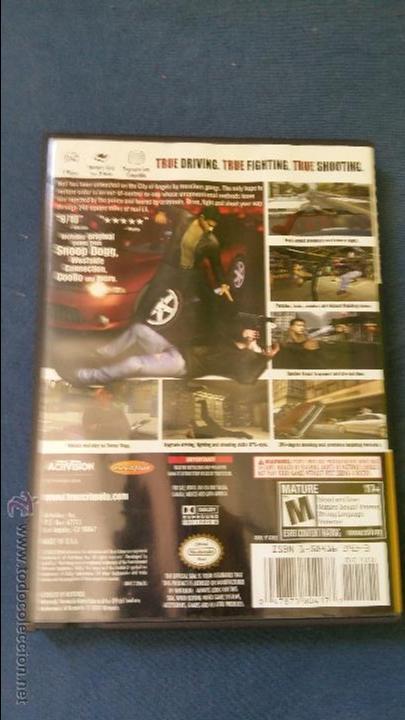 Videojuegos y Consolas: Juego de nintendo gamecube ngc true crime streets of la original completo (versión americana NTSC) - Foto 3 - 51068468