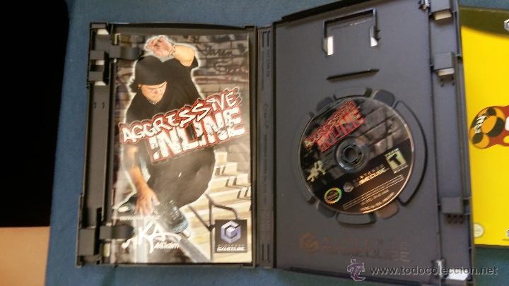 Videojuegos y Consolas: Juego de nintendo gamecube ngc agressive inline skateboard original completo (versión americana NTSC - Foto 2 - 51068745