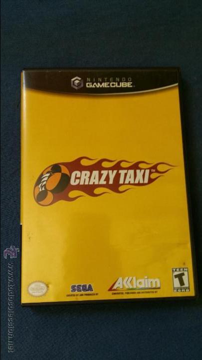 JUEGO DE NINTENDO GAMECUBE NGC TOP CRAZY TAXI ORIGINAL COMPLETO (VERSIÓN AMERICANA NTSC) (Juguetes - Videojuegos y Consolas - Nintendo - Gamecube)