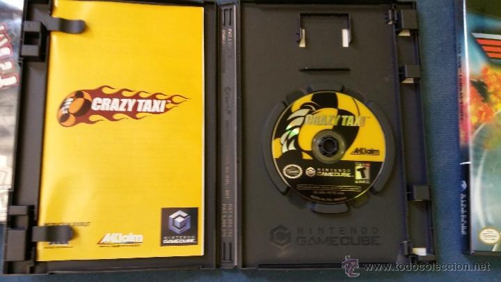 Videojuegos y Consolas: Juego de nintendo gamecube ngc top Crazy taxi original completo (versión americana NTSC) - Foto 2 - 51068768