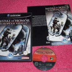 Videojuegos y Consolas: NINTENDO GAMECUBE MEDAL OF HONOR EUROPEAN ASSAULT PAL ESPAÑA NUEVO SIN PRECINTO. Lote 51958242