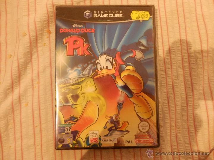 Videojuegos y Consolas: juego pato donald gamecube precintado de origen valido consola wii y nintendo game cube - Foto 2 - 52701370