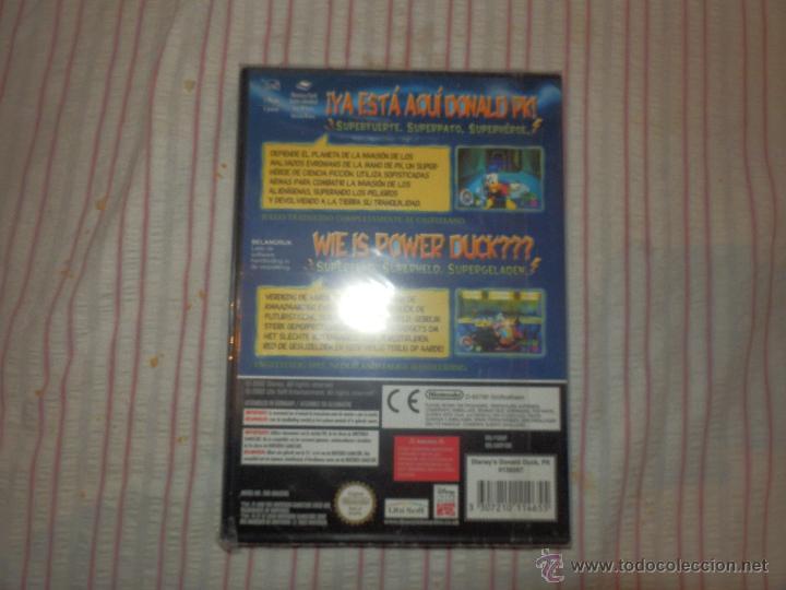 Videojuegos y Consolas: juego pato donald gamecube precintado de origen valido consola wii y nintendo game cube - Foto 3 - 52701370