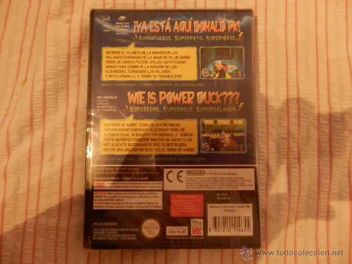 Videojuegos y Consolas: juego pato donald gamecube precintado de origen valido consola wii y nintendo game cube - Foto 4 - 52701370