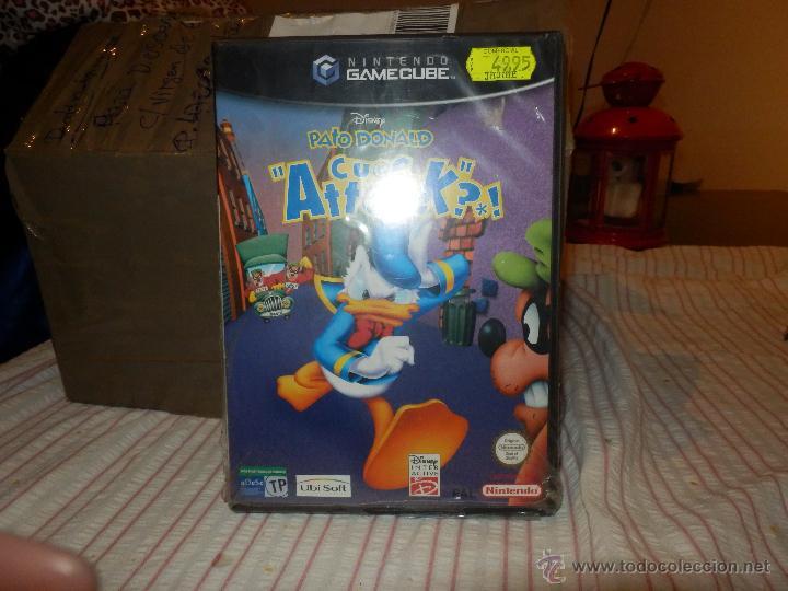JUEGO PATO DONALD GAMECUBE PRECINTADO DE ORIGEN VALIDO CONSOLA WII Y NINTENDO GAME CUBE (Juguetes - Videojuegos y Consolas - Nintendo - Gamecube)