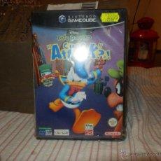 Videogiochi e Consoli: JUEGO PATO DONALD GAMECUBE PRECINTADO DE ORIGEN VALIDO CONSOLA WII Y NINTENDO GAME CUBE. Lote 264273372