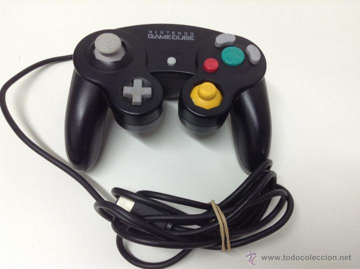 MANDO NEGRO ORIGINAL NINTENDO GAMECUBE (Juguetes - Videojuegos y Consolas - Nintendo - Gamecube)