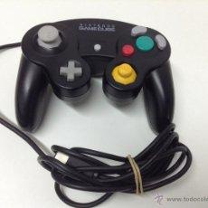 Videojuegos y Consolas: MANDO NEGRO ORIGINAL NINTENDO GAMECUBE. Lote 53266670