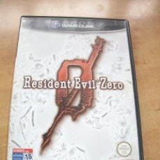 Videojuegos y Consolas: VIDEOJUEGO RESIDENT EVIL ZERO. GAMECUBE (GAME CUBE. GC) CAPCOM. 2002. PAL ESPAÑA. Lote 53603147