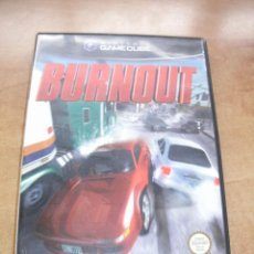 Videojuegos y Consolas: VIDEOJUEGO BURNOUT. GAMECUBE (GAME CUBE. GC). AKKLAIM. 2002. PAL ESPAÑA. Lote 53615194
