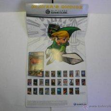 Videojuegos y Consolas: FOLLETO DE NINTENDO GAMECUBE - GAME CUBE. Lote 53681083