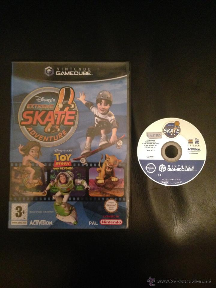 EXTREME SKATE ADVENTURE TARZAN TOY STORY REY LEON NINTENDO GAMECUBE PAL ACTIVISION GAME CUBE (Juguetes - Videojuegos y Consolas - Nintendo - Gamecube)