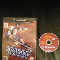 Videojuegos y Consolas: EVOLUTION SKATEBOARDING JUEGO NINTENGO GAMECUBE GAME CUBE. Lote 54622221