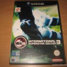 Videojuegos y Consolas: INTERNATIONAL SUPERSTAR SOCCER ISS 3 NINTENDO GAMECUBE PAL ESPAÑA COMPLETO - KONAMI. Lote 56104594