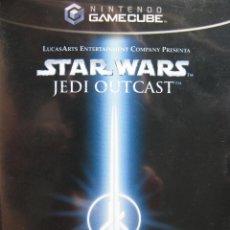 Videojuegos y Consolas: STAR WARS. JEDI OUTCAST. MANUAL EN CASTELLANO. COMO NUEVO.. Lote 57301280