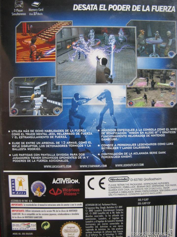 Videojuegos y Consolas: STAR WARS. JEDI OUTCAST. MANUAL EN CASTELLANO. COMO NUEVO. - Foto 2 - 57301280