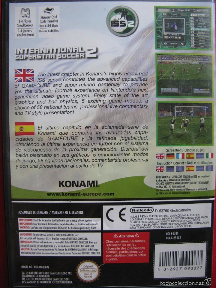 Videojuegos y Consolas: INTERNATIONAL SUPERSTAR SOCCER 2. ISS2. COMO NUEVO. - Foto 2 - 57301330
