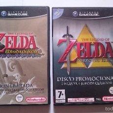 Videojuegos y Consolas: PACK ZELDA EDICION LIMITADA: WIND WAKER Y COLLECTO´S NINTENDO GAME CUBE ESPAÑA. Lote 57829449