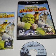 Videojuegos y Consolas: SHREK SUPER SLAM ( NINTENDO GAMECUBE/WII-PAL- ESPAÑA). Lote 58191121