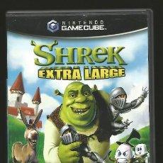 Videojuegos y Consolas: SHREK EXTRA LARGE. NINTENDO GAMECUBE. INCLUYE MANUAL.. Lote 58295036