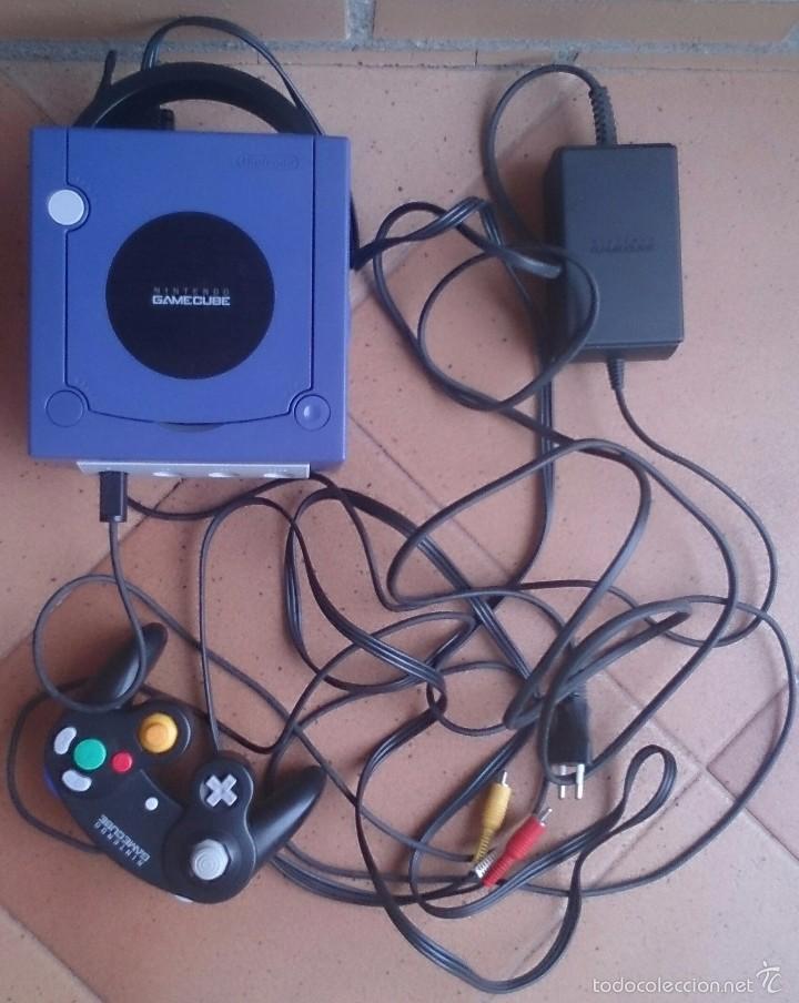 CONSOLA GAMECUBE GAME CUBE NINTENDO (Juguetes - Videojuegos y Consolas - Nintendo - Gamecube)