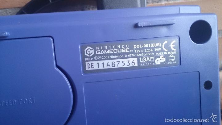 Videojuegos y Consolas: Consola Gamecube Game Cube Nintendo - Foto 5 - 58350094