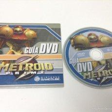 Videojuegos y Consolas: GUIA EN DVD METROID PRIME GAMECUBE. Lote 58933715