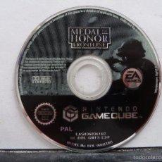 Videojuegos y Consolas: JUEGO MEDAL OF HONOR PARA GAMECUBE PAL ESPAÑA. Lote 60463583
