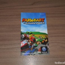 Videojuegos y Consolas: MARIO KART DOUBLE DASH MANUAL DE INSTRUCCIONES NINTENDO GAMECUBE PAL ESPAÑA GAME CUBE COMO NUEVO. Lote 64632683