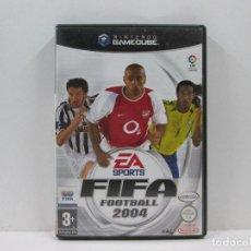 Videojuegos y Consolas: FIFA FOOTBALL 2004 NINTENDO GAME CUBE PAL ESPAÑA. Lote 65682274