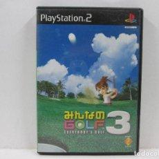 Videojuegos y Consolas: GOLF 3 PLAY STATION 2 NTCS-J. Lote 65683526