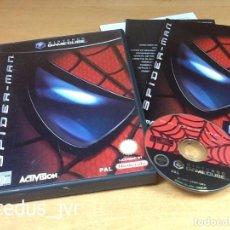 Videojuegos y Consolas: SPIDER-MAN SPIDERMAN JUEGO PARA NINTENDO GAMECUBE GAME CUBE PAL COMPLETO EN BUEN ESTADO. Lote 66046570