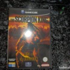 Videojuegos y Consolas: GAME CUBE NINTENDO GAMECUBE JUEGO EL REY ESCORPION VALIDO PARA WII. Lote 66435074