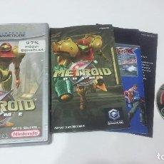 Videojuegos y Consolas: JUEGO COMPLETO METROID PRIME NINTENDO GAME CUBE GAMECUBE PAL ESPAÑA. Lote 117688915