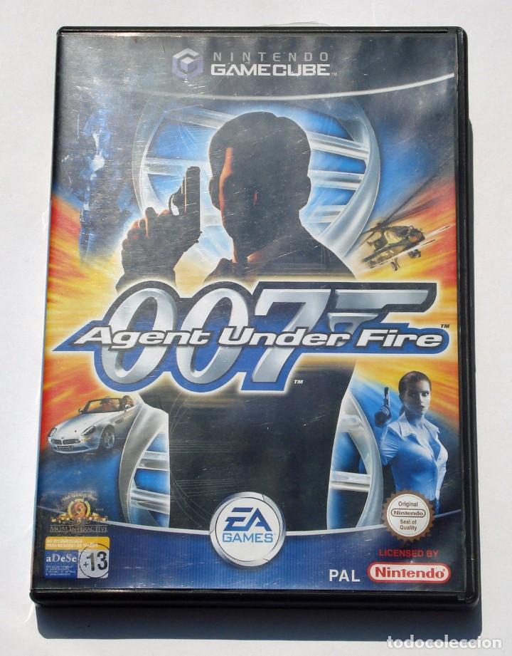 VIDEOJUEGO NINTENDO GC GAMECUBE GAME CUBE - 007 AGENT UNDER FIRE - EA GAMES - PAL (Juguetes - Videojuegos y Consolas - Nintendo - Gamecube)