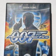 Videojuegos y Consolas: VIDEOJUEGO NINTENDO GC GAMECUBE GAME CUBE - 007 AGENT UNDER FIRE - EA GAMES - PAL. Lote 73631355