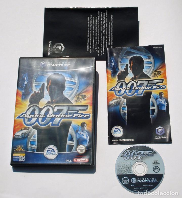 Videojuegos y Consolas: VIDEOJUEGO NINTENDO GC GAMECUBE GAME CUBE - 007 AGENT UNDER FIRE - EA GAMES - PAL - Foto 2 - 73631355