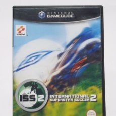 Videojuegos y Consolas: VIDEOJUEGO NINTENDO GAMECUBE GAME CUBE - ISS INTERNATIONAL SUPERSTAR SOCCER 2 - PAL. Lote 149281348