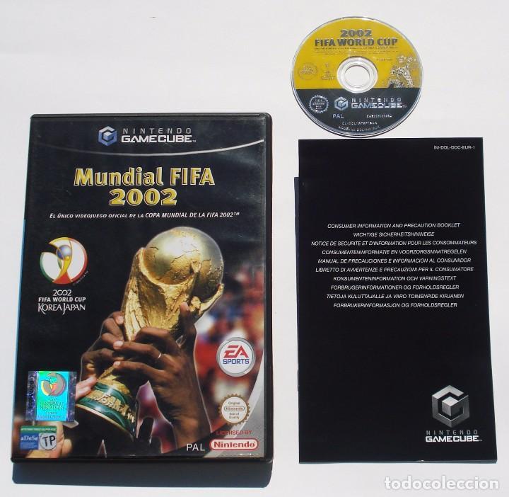Videojuegos y Consolas: VIDEOJUEGO NINTENDO GAME CUBE GAMECUBE - MUNDIAL FIFA 2002 - EA SPORTS - PAL - Foto 2 - 73634155