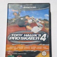 Videojuegos y Consolas: VIDEOJUEGO NINTENDO GAMECUBE GAME CUBE - TONY HAWK'S PROSKATER 4 - PAL. Lote 73635215