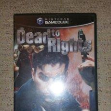 Videojuegos y Consolas: JUEGO NINTENDO GAMECUBE - DEAD TO RIGHTS PAL ESPAÑA COMPLETO!!!. Lote 75541179