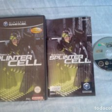 Videojuegos y Consolas: TOM CLANCY'S SPLINTER CELL - NINTENDO GAMECUBE (COMPLETO-PAL ESPAÑA). Lote 78371485