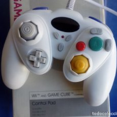 Videojuegos y Consolas: MANDO GAMEPAD BLANCO PARA NINTENDO GAMECUBE Y WII - GAMEWARE. Lote 80368315
