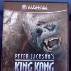 Videojuegos y Consolas: JUEGO GAMECUBE KING KONG. Lote 80368761