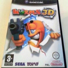 Videojuegos y Consolas: WORMS 3D PAL DE ESPAÑA GAMECUBE GAME CUBE. Lote 83380472