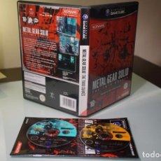 Videojuegos y Consolas: METAL GEAR SOLID TWIN SNAKES PAL DE ESPAÑA GAMECUBE GAME CUBE. Lote 83381368